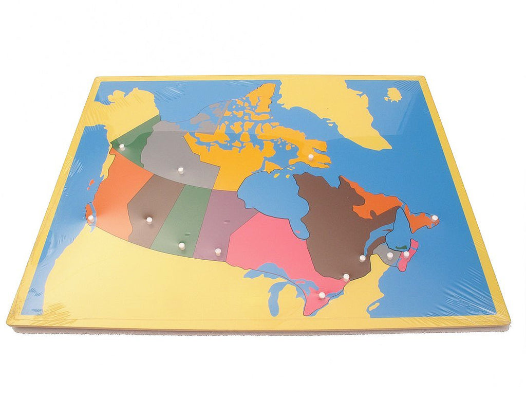 Map Of Canada Puzzle.Puzzle Map Canada