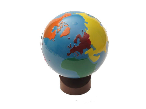 Globe of World Parts - The Colored Globe
