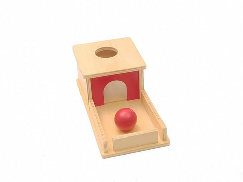 PinkMontesori Object Permanence with Tray - Pink Montessori Montessori Material for sale @ pinkmontessori.com - 1