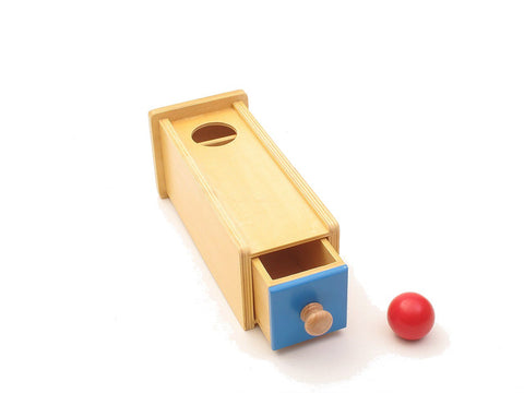 Object Permanence Box with Drawer