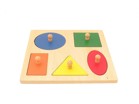 Geometric Shape Peg Board