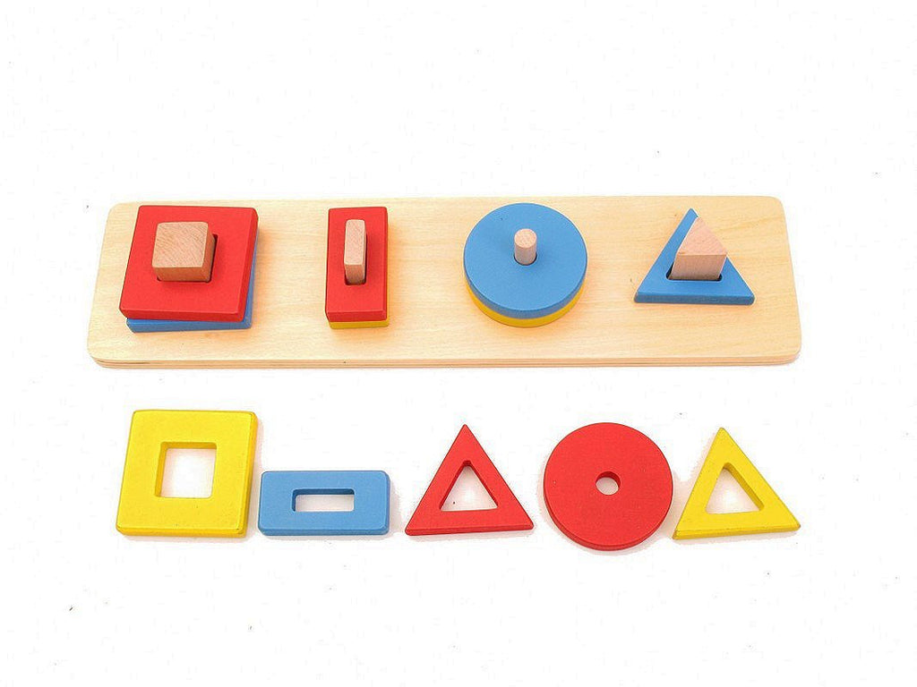PinkMontesori Four Basic Building Blocks of Graphics - Pink Montessori Montessori Material for sale @ pinkmontessori.com - 1