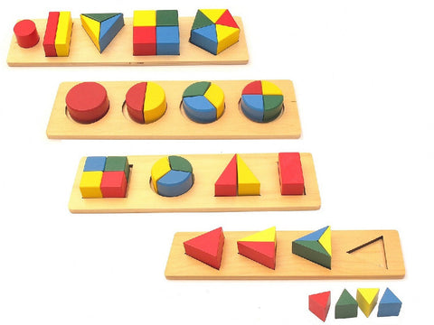 PinkMontesori Infant & Toddler Multiple Blocks Package - Pink Montessori Montessori Material for sale @ pinkmontessori.com