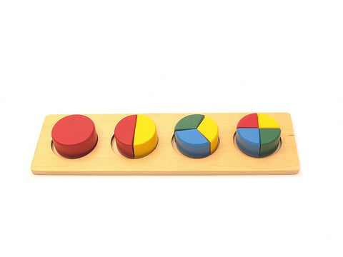 PinkMontesori Circle Multiple Blocks - Pink Montessori Montessori Material for sale @ pinkmontessori.com - 1