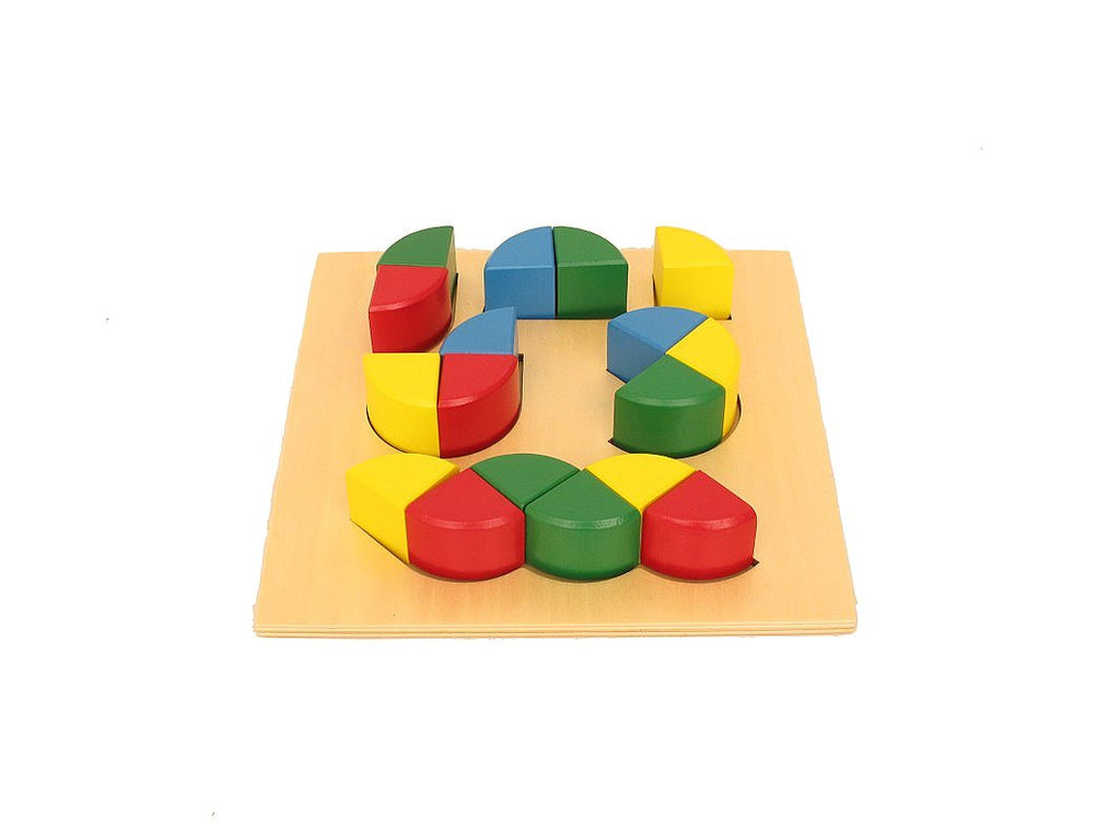 PinkMontesori Shape puzzle blocks - Pink Montessori Montessori Material for sale @ pinkmontessori.com - 1