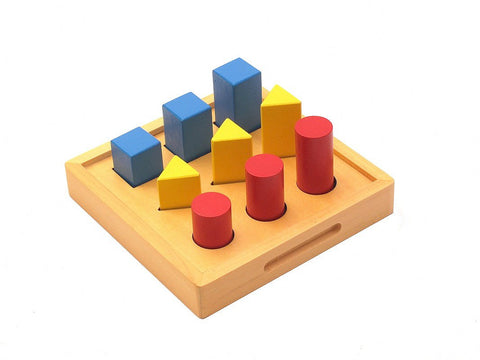 PinkMontesori Geometry Solids Ladder - Pink Montessori Montessori Material for sale @ pinkmontessori.com - 1