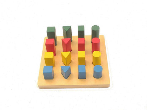 PinkMontesori Geometry Ladder - Pink Montessori Montessori Material for sale @ pinkmontessori.com - 1