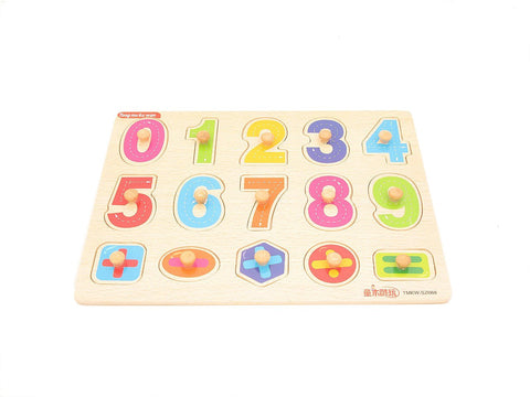 Number Peg Board