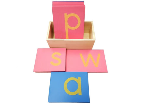 Sandpaper Letters Lower Case Print with Box