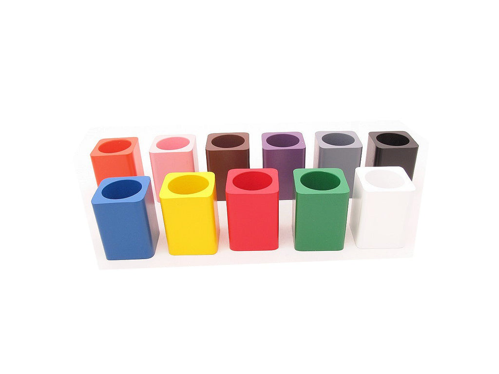 Set of 11 Coloured Pencil Holders - Premium