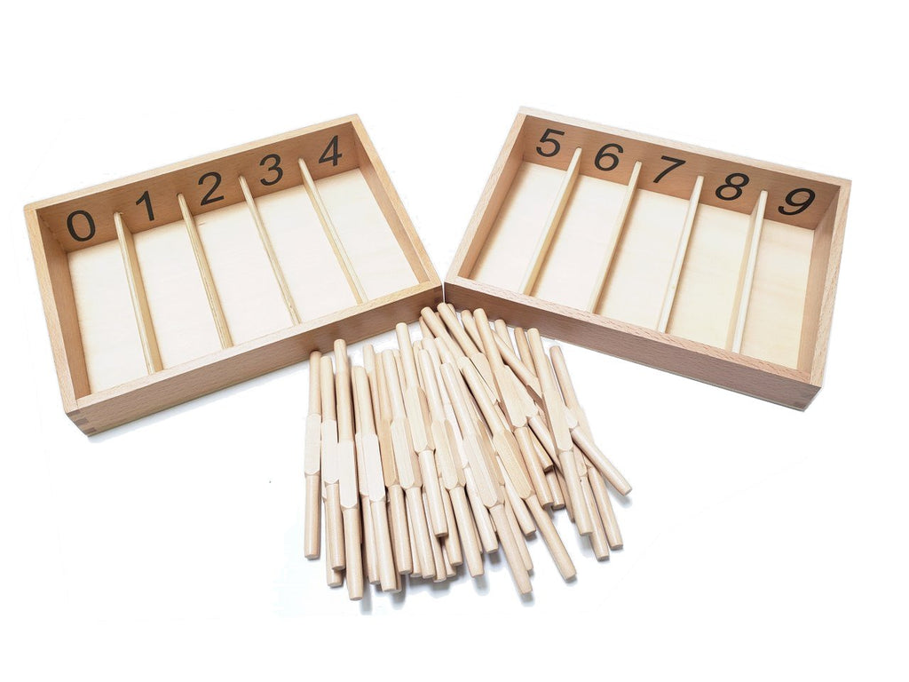 Spindle Boxes with 45 Spindles