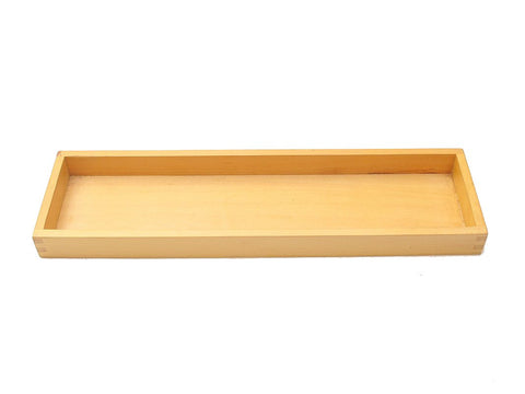 PinkMontesori Tray for 45 Wooden Hundred Squares - Pink Montessori Montessori Material for sale @ pinkmontessori.com
