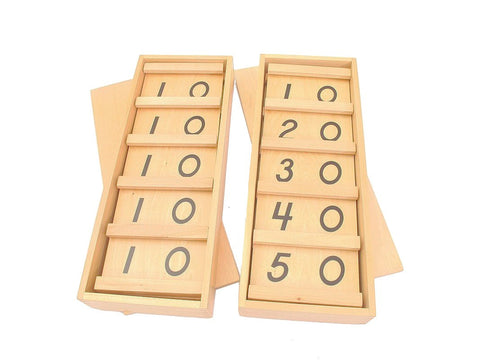 PinkMontesori Teen and Ten Boards - Pink Montessori Montessori Material for sale @ pinkmontessori.com - 1