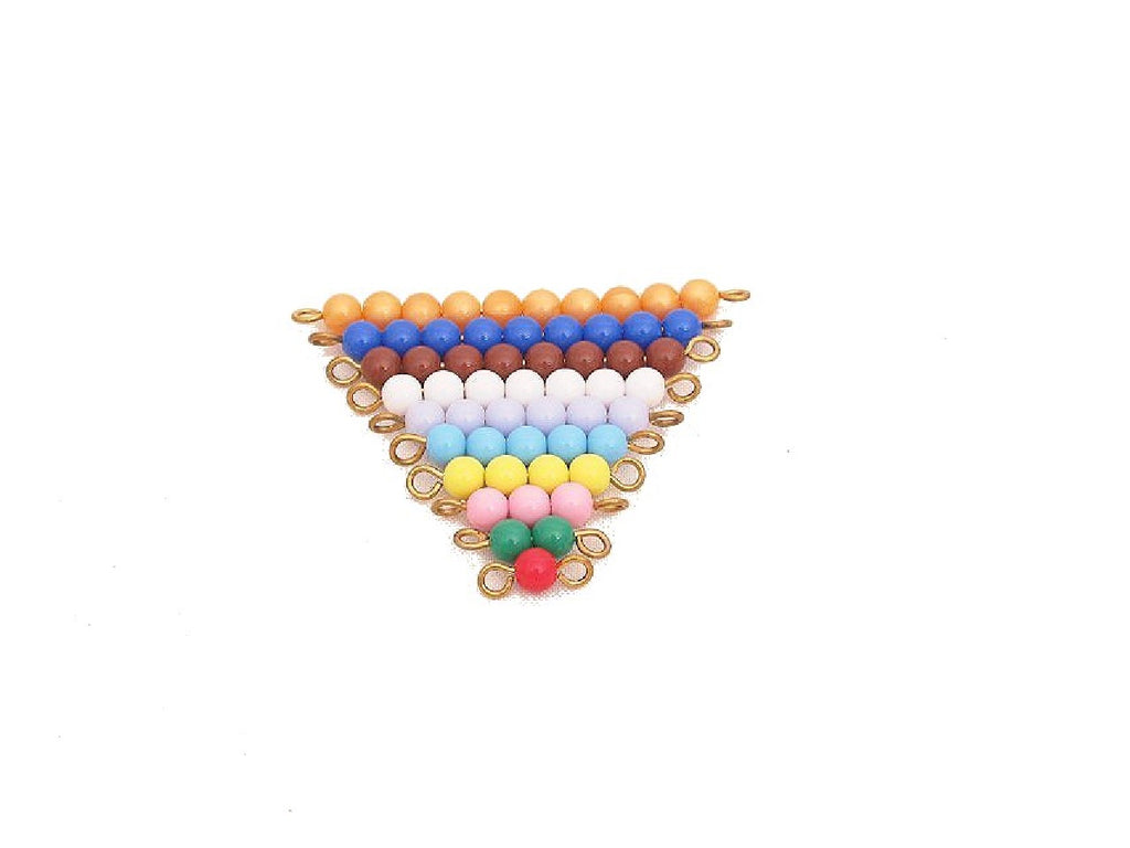 Colored Bead Stairs 1-10