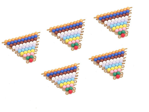 5 Sets of Colored Bead Stairs 1-10