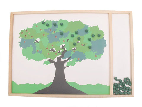 PinkMontesori Apple Tree Game - Pink Montessori Montessori Material for sale @ pinkmontessori.com