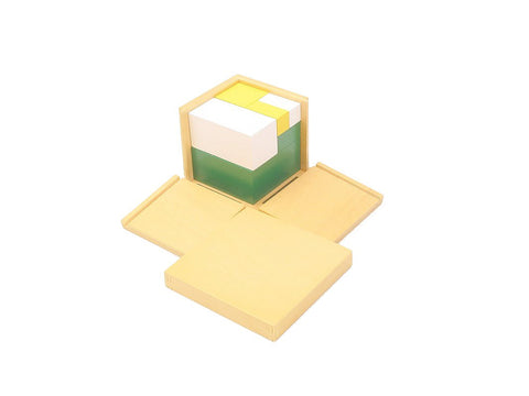 PinkMontesori Power of 2 Cubes - Pink Montessori Montessori Material for sale @ pinkmontessori.com