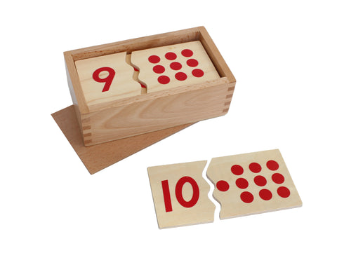 Number Puzzle 1-10