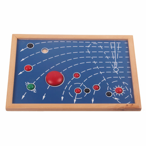 PinkMontesori Puzzle Map of 8 Planet - Pink Montessori Montessori Material for sale @ pinkmontessori.com - 1