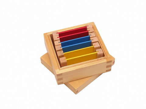 PinkMontesori Color Tablets Box 1 - Pink Montessori Montessori Material for sale @ pinkmontessori.com - 1