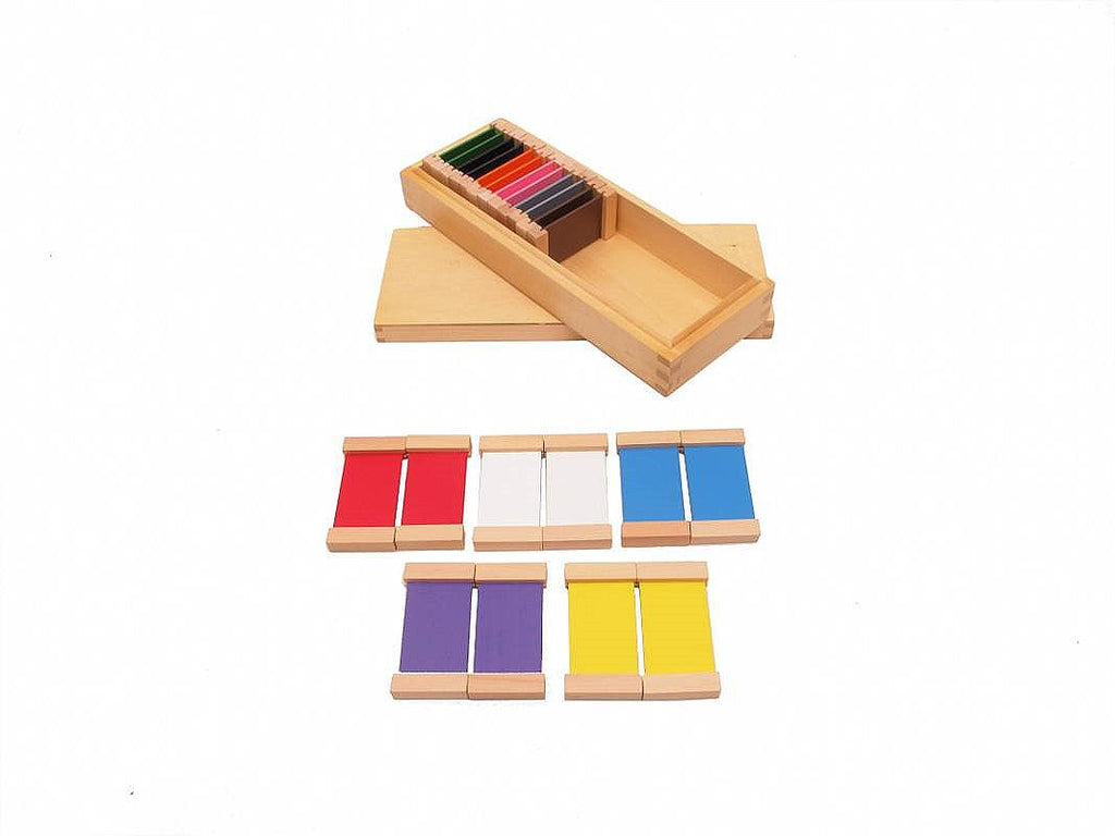 PinkMontesori Color Tablet Box 2 - Pink Montessori Montessori Material for sale @ pinkmontessori.com