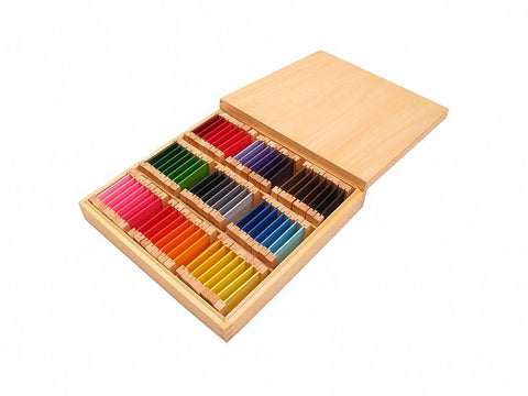 PinkMontesori Color Tablet Box 3 - Pink Montessori Montessori Material for sale @ pinkmontessori.com - 1
