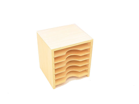 Cabinet for Geometric Form Cards & Leaf Cards (6 Shelves)