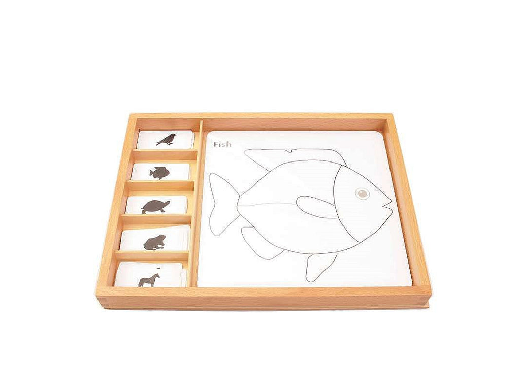 PinkMontesori Animal Puzzles Activity Set - Pink Montessori Montessori Material for sale @ pinkmontessori.com - 1