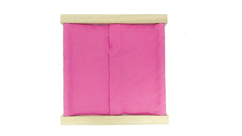 PinkMontesori Premium Snap Closure Dressing Frame - Pink Montessori Montessori Material for sale @ pinkmontessori.com - 1