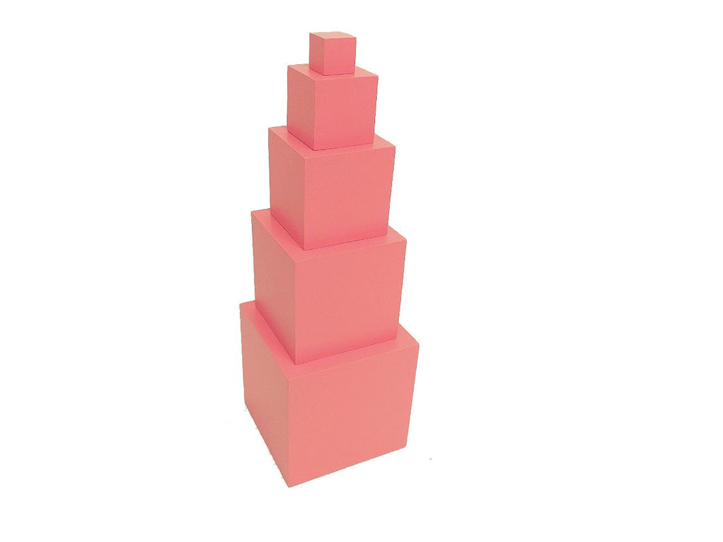 Toddler 5 Steps Pink Tower