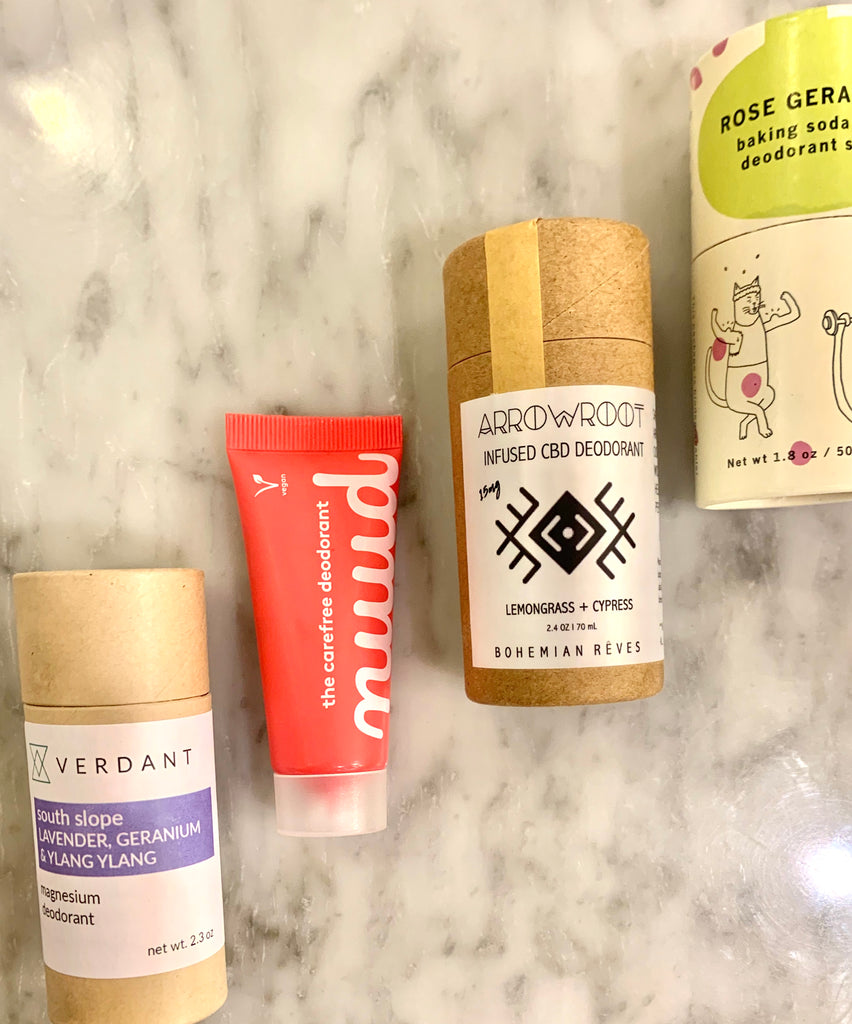 Zero Waste Baking Soda Free Deodorant Alternatives