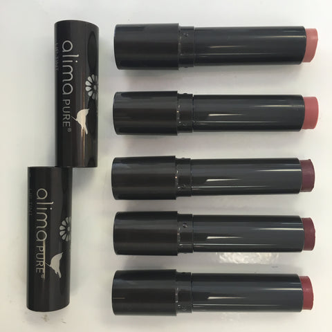 Alima Pure LIp Colors. Sustainably made, cruelty free.