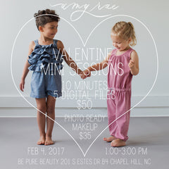 valentines mini sessions