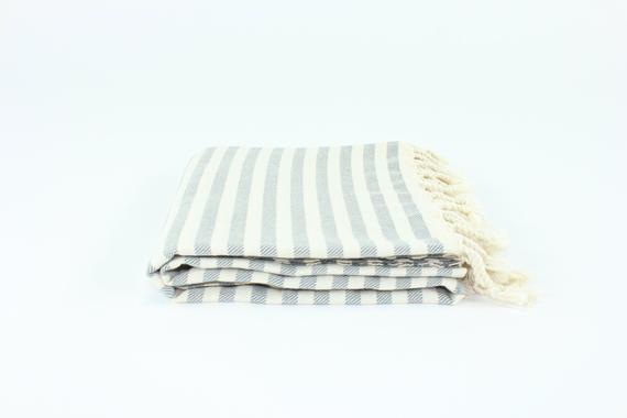 TURKISH LINEN & TOWELS, LLC - Turkish Striped Peshtemal Towel