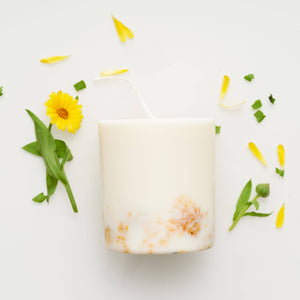 the MUNIO - Marigold Candle - shop now at be pure