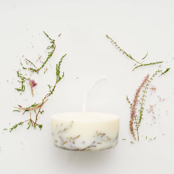 the MUNIO - Heather Mini Candle - shop now at be pure