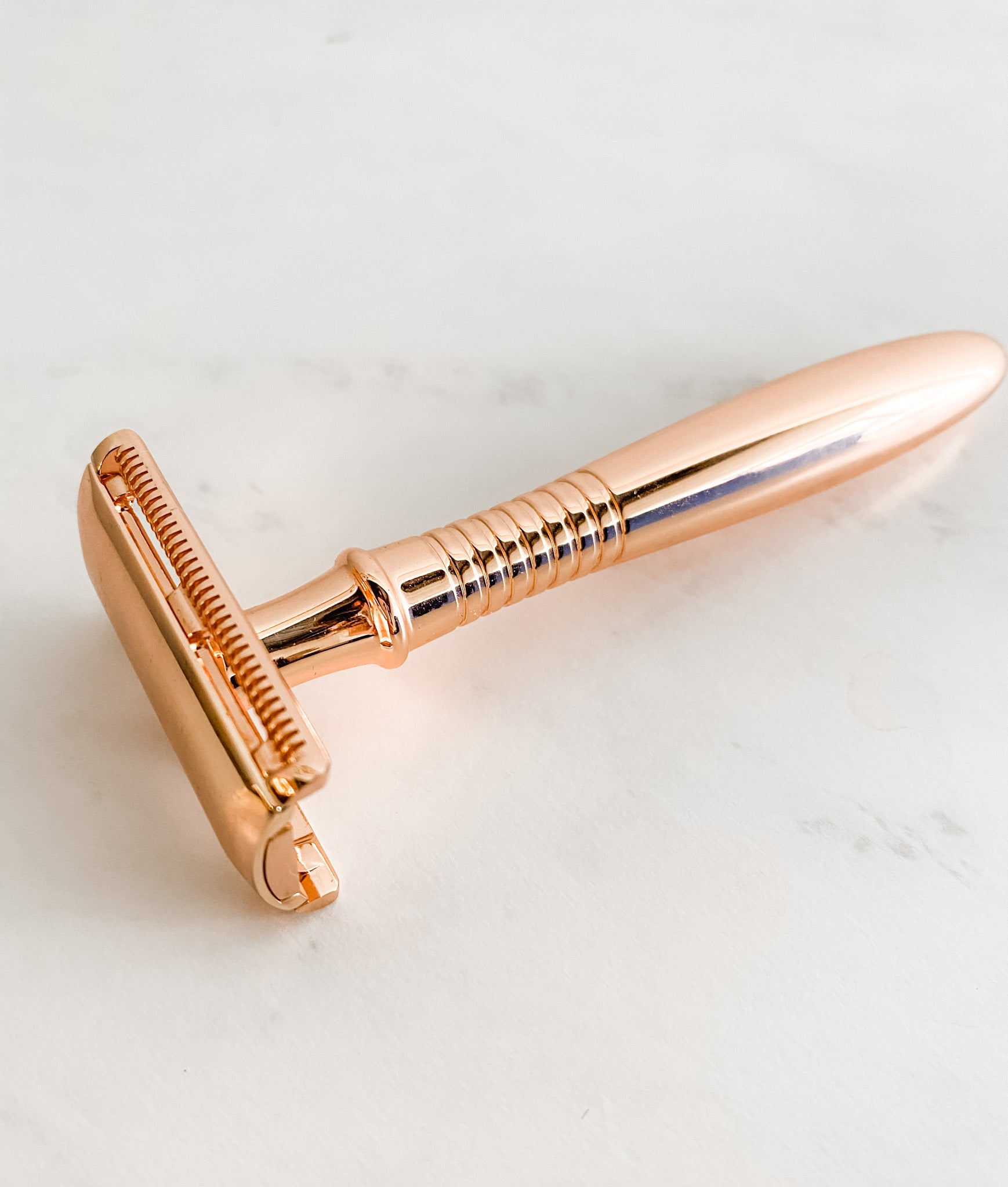 reusable razor, safety razor, zero waste razor, sustainable shaving,  for women - Shop Be Pure