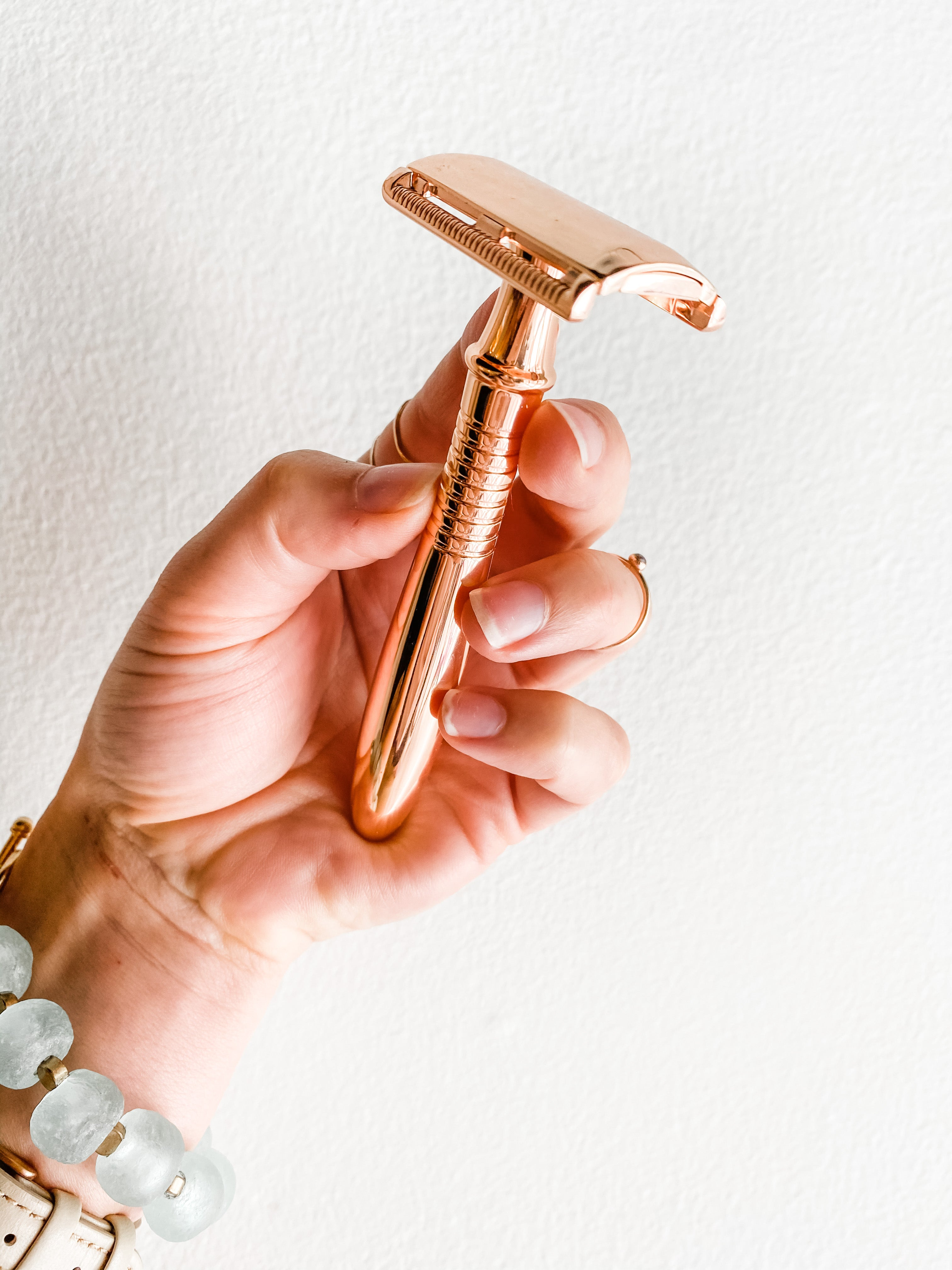reusable razor, safety razor, zero waste razor, sustainable shaving, for women - Shop Be Pure  Edit alt text