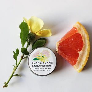 Ylang Ylang & Grapefruit Cuticle Cream - be pure beauty