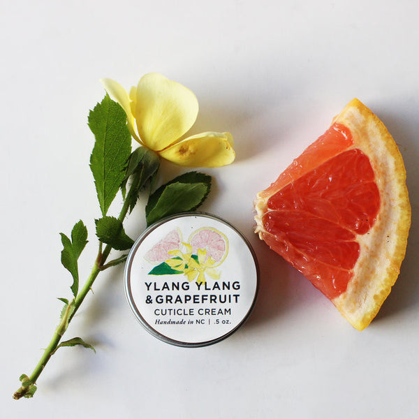 Ylang Ylang & Grapefruit Cuticle Cream