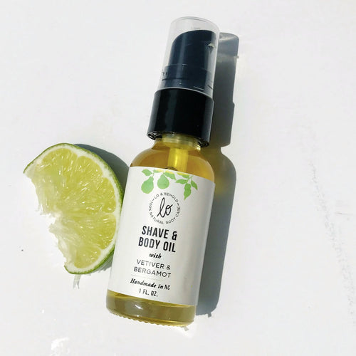 Vetiver & Bergamot Shave and Body Oil - be pure beauty