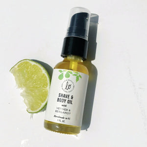 Vetiver & Bergamot Shave and Body Oil - shop now at be pure
