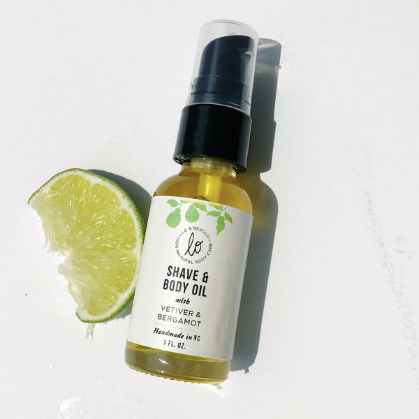 Vetiver & Bergamot Shave and Body Oil