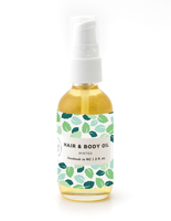Minted Hair & Body Oil - shop now at be pure