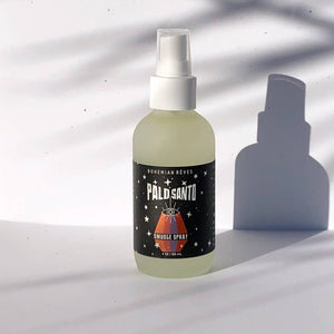 Palo Santo Smudge Spray - shop now at be pure