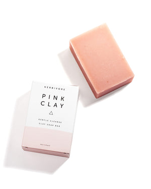 Pink Clay Cleansing Bar Soap - shop now at be pure