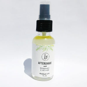 Rosemary & Vetiver Aftershave - shop now at be pure