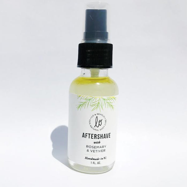 Rosemary & Vetiver Aftershave - be pure beauty