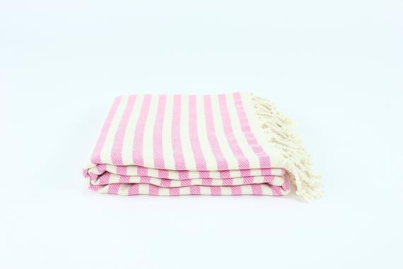 TURKISH LINEN & TOWELS, LLC - Turkish Striped Peshtemal Towel - shop now at be pure