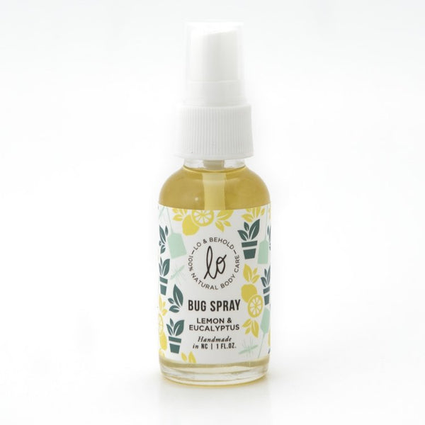 Lemon & Eucalyptus Bug Spray - shop now at be pure